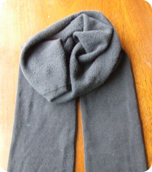 Opaque tights on the outside, tender fleece on the inside!