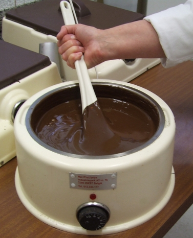 Let us pause and contemplate a vat of melted premium chocolate.