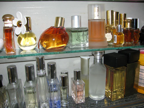 "Judith's ""morning perfumes"""