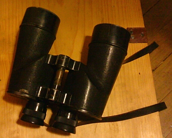 """The things I've seen!"" say these US WWII Navy binoculars."