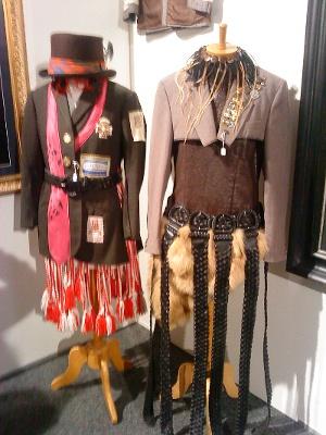 Tamaki's wearable art.