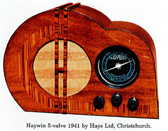 Someone loved this vintage radio, built in Christchurch, NZ