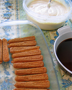 Tiramisu by FrancescaV, reused under Creative Commons, see link below.