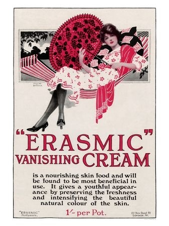 """Erasmic"", it's like you'll be orgasmic at the flaws erased from your skin"