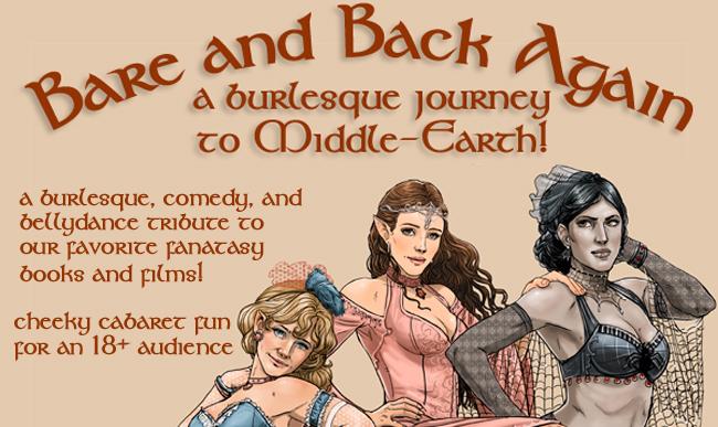 Poster art by fantasy artist Hope Hoover