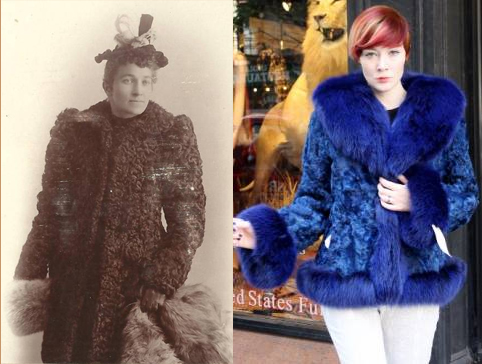 Ing Grandma S Vintage Fur Ever So, How Much Did A Mink Coat Cost In 1980