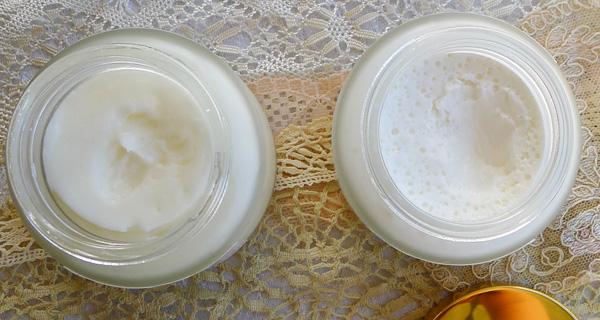 Inside the jars