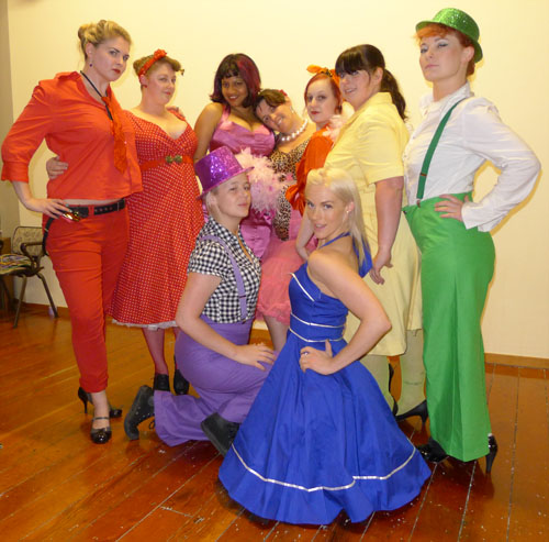 The Rainbow Troupe for 2013, see them at Out in the Square tomorrow!