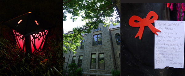 The Gothic architecture, feminist ritual, and academic stress of Bryn Mawr College.