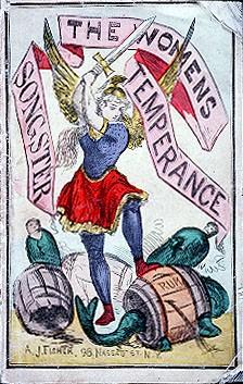 Women's temperance: pretty badass in 1874.